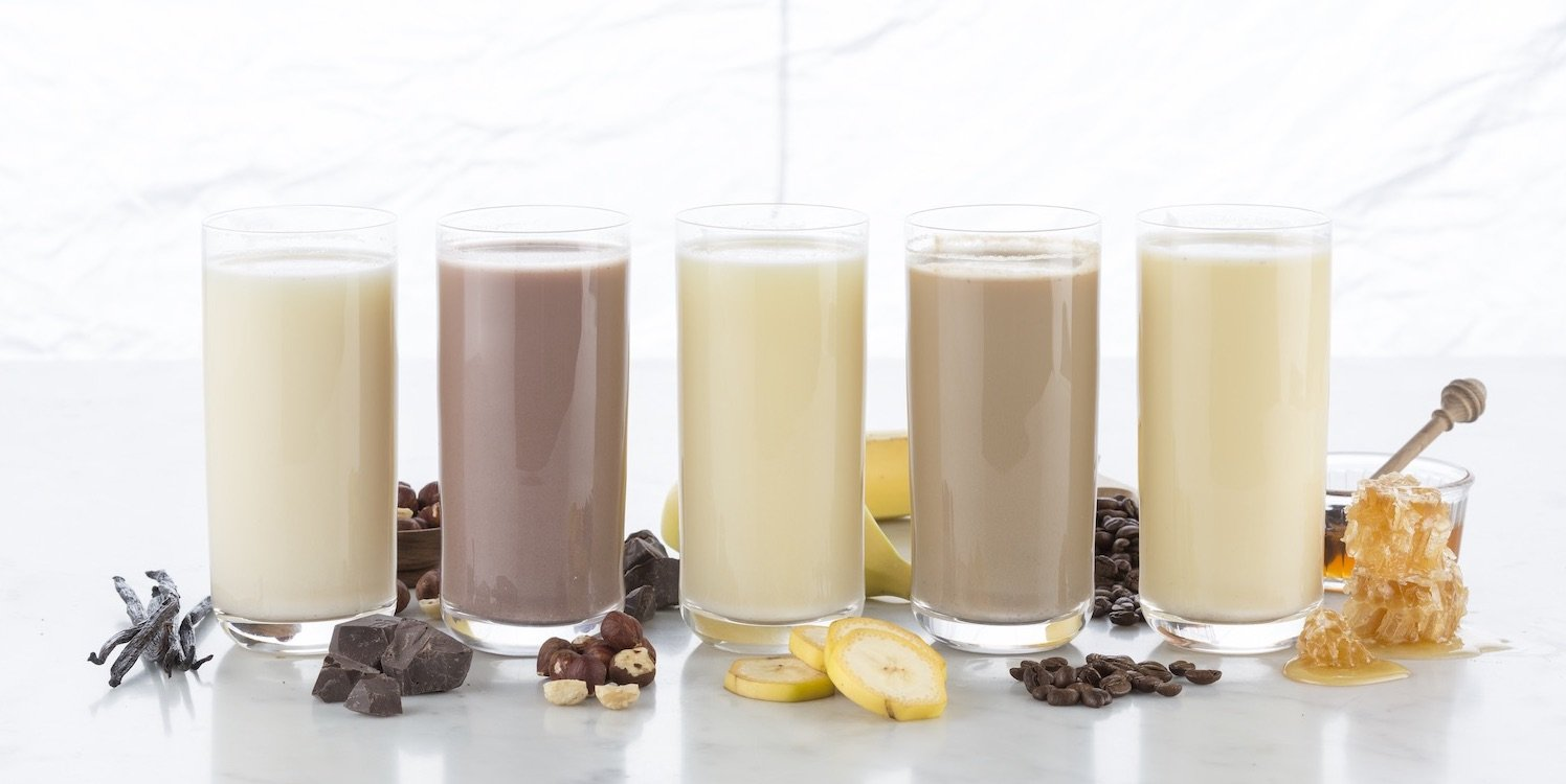 Protein shakes versus meal replacement shakes